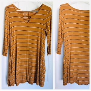 Cotton fall dress